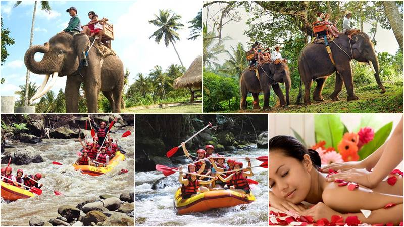 Bali Elephant Camp + Ayung Rafting + Spa 1