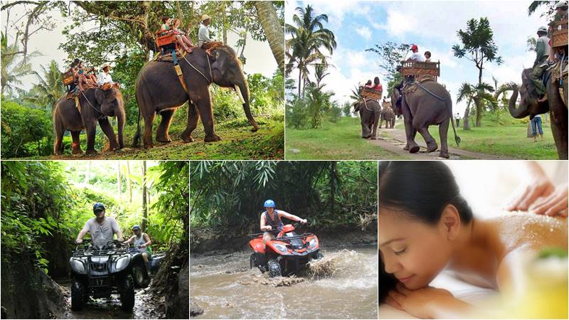 Bali Elephant Camp + ATV Ride + Spa 1
